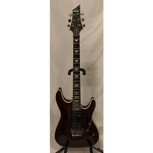Schecter Guitar Research Omen Extreme 6 Floyd Rose Solid Body Electric Guitar