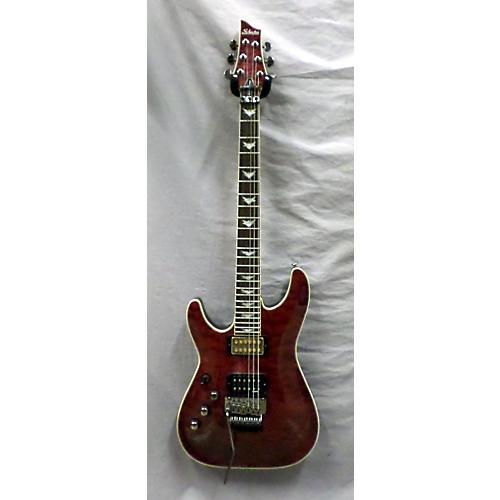used schecter guitar research omen extreme 6 left handed electric guitar guitar center. Black Bedroom Furniture Sets. Home Design Ideas