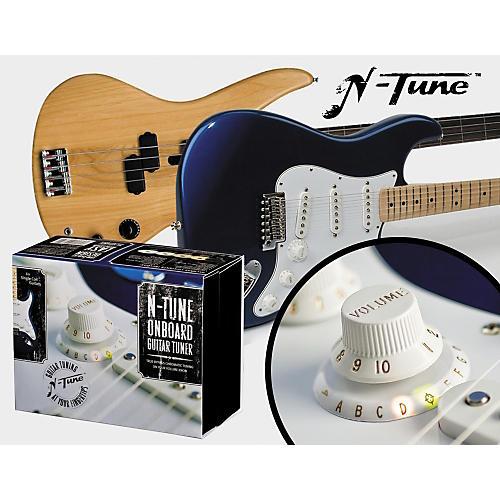 N Tune On Board Chromatic Electric Guitar Tuner Guitar Center