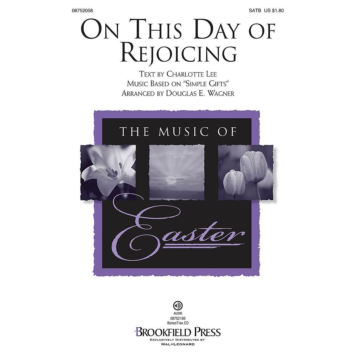 Brookfield On This Day of Rejoicing SATB arranged by Douglas E. Wagner