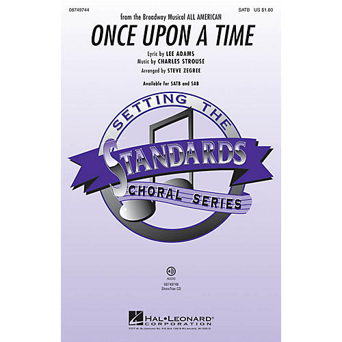 Hal Leonard Once Upon a Time ShowTrax CD Arranged by Steve Zegree
