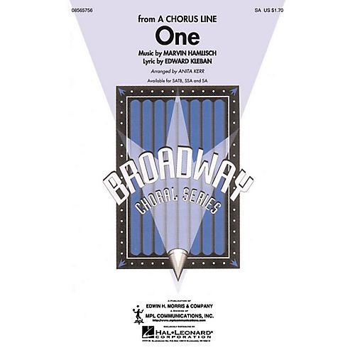 Hal Leonard One 2-Part arranged by Anita Kerr