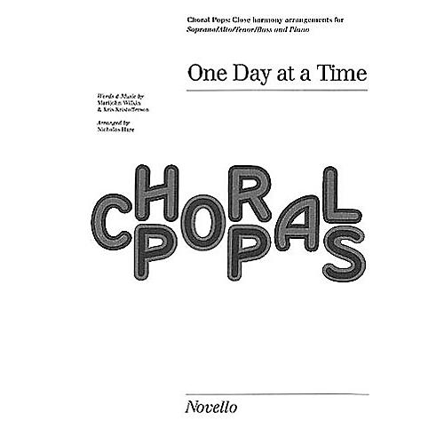 Novello One Day at a Time SATB Composed by Kris Kristofferson