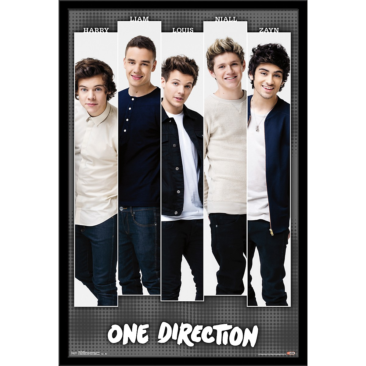 Trends International One Direction - Bars Poster