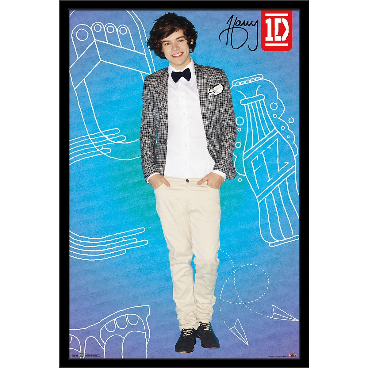Trends International One Direction - Harry Pop Poster