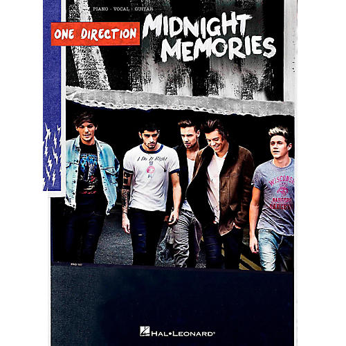 Hal Leonard One Direction - Midnight Memories Piano/Vocal/Guitar Songbook