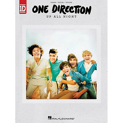 Hal Leonard One Direction - Up All Night for Piano/Vocal/Guitar