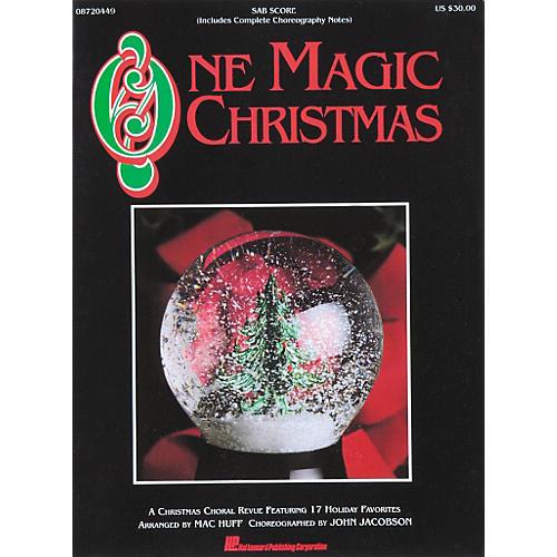 Hal Leonard One Magic Christmas - SAB Score