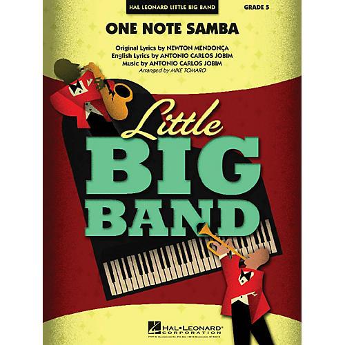 Hal Leonard One Note Samba Jazz Band Level 5 Arranged by Mike Tomaro