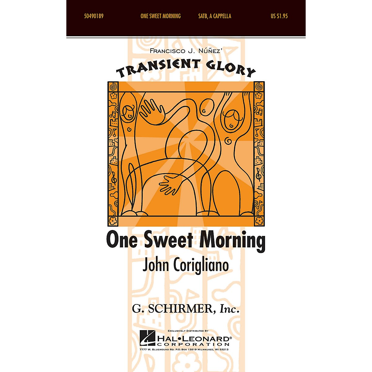 G. Schirmer One Sweet Morning (Transient Glory Series) SSAA composed by John Corigliano