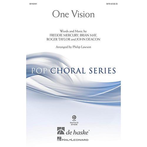 De Haske Music One Vision SATB arranged by Philip Lawson