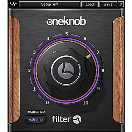 Waves OneKnob Filter Native/SG Software Download
