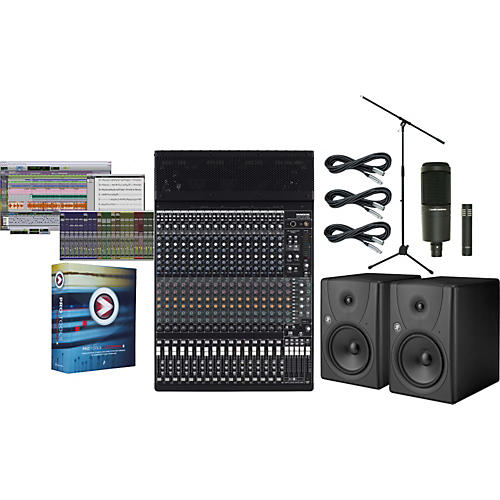 Mackie Onyx 1640i Pro Tools M-Powered Package