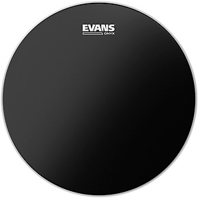 evans onyx 2 ply drum head 16 in guitar center. Black Bedroom Furniture Sets. Home Design Ideas