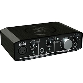 mackie onyx artist 2x2 usb audio interface guitar center. Black Bedroom Furniture Sets. Home Design Ideas