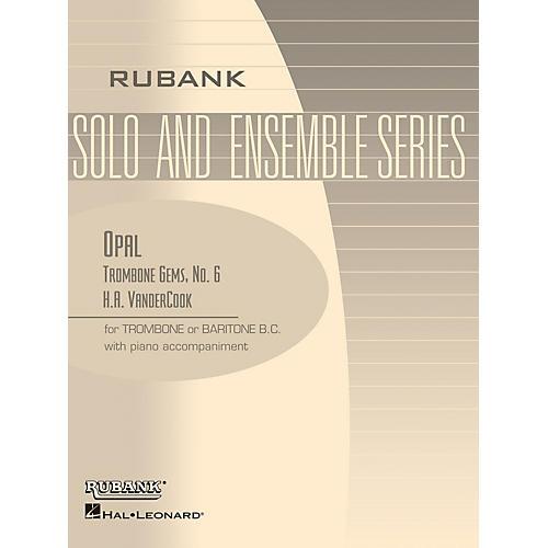 Rubank Publications Opal (Trombone (Baritone B.C.) Solo with Piano - Grade 2) Rubank Solo/Ensemble Sheet Series