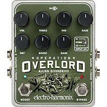 Electro-Harmonix Operation Overload Overdrive Pedal