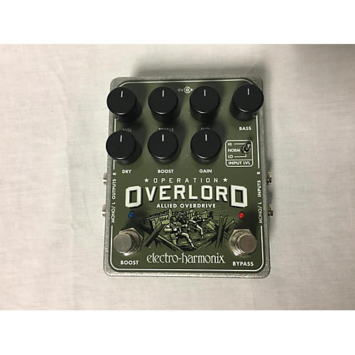 Electro-Harmonix Operation Overlord Effect Pedal