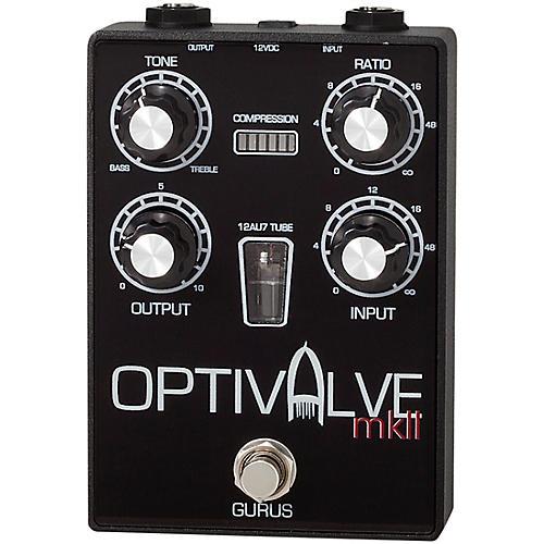 Gurus Optivalve MK II Tube-Optical Compressor Effects Pedal