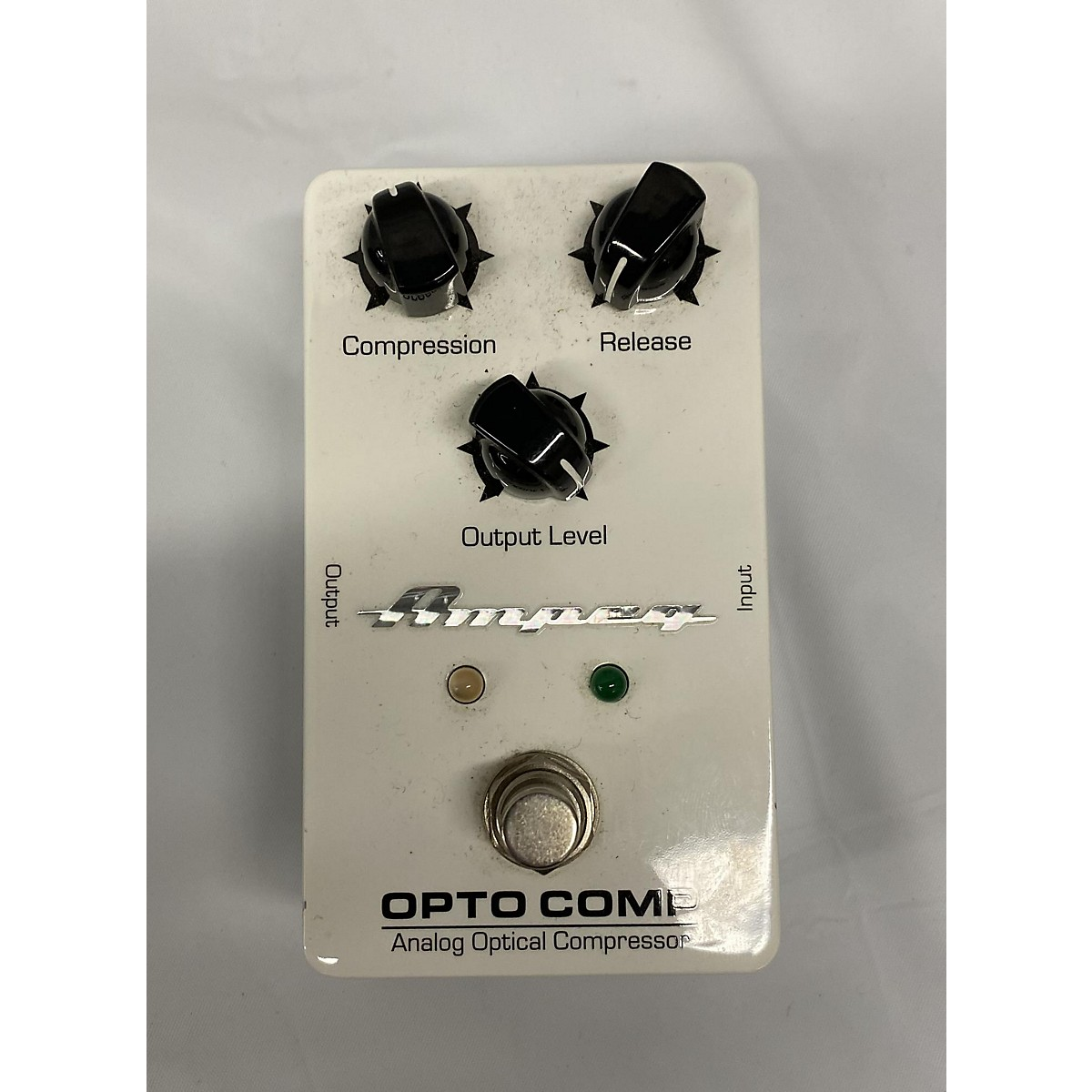 Ampeg Opto Comp Bass Effect Pedal