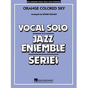 Hal Leonard Orange Colored Sky Key: G Vocal Solo with Jazz Ensemble Jaz... by Hal Leonard