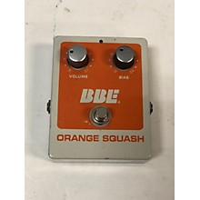 BBE Orange Squash Effect Pedal