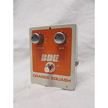 BBE Orange Squash Effect Pedal