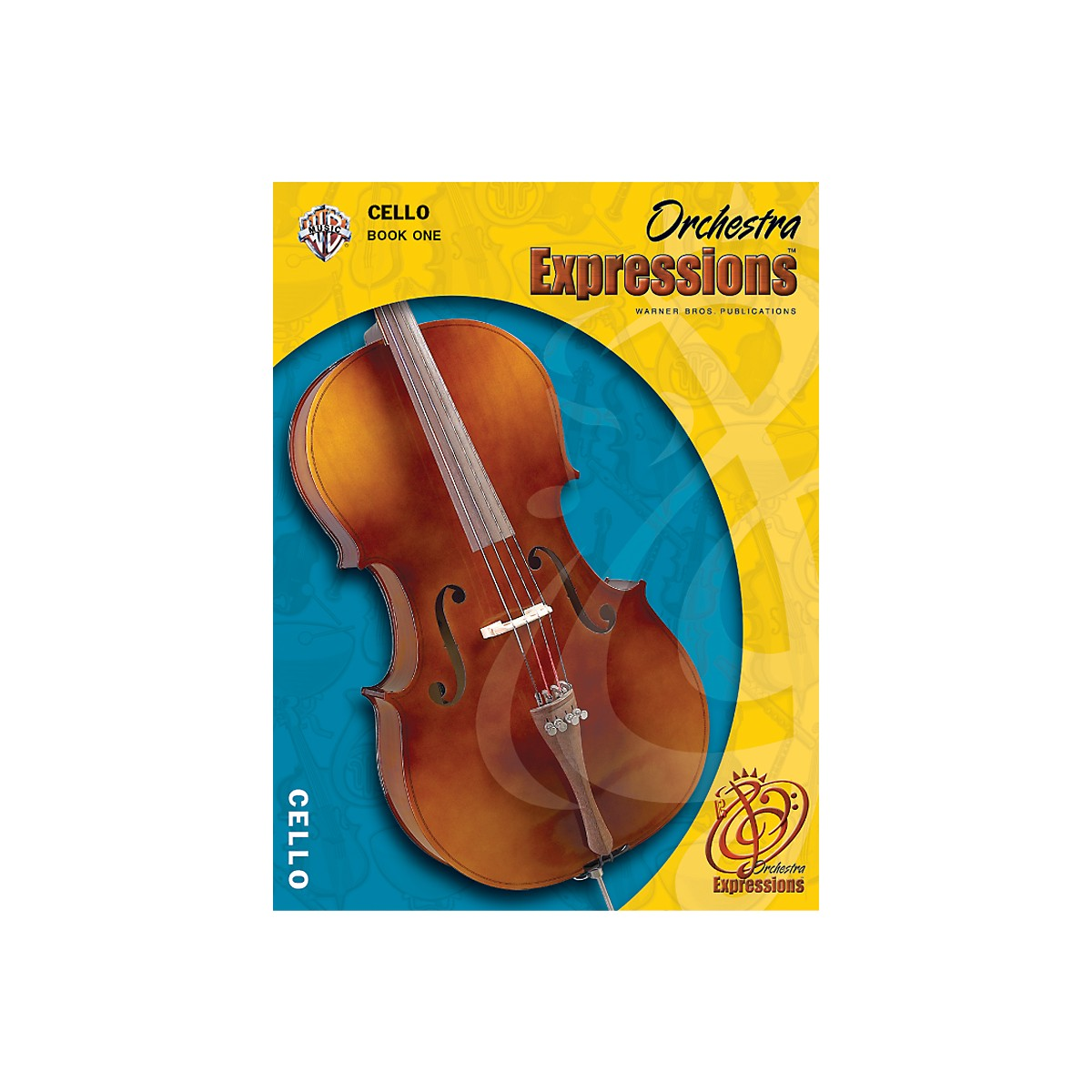 Alfred Orchestra Expressions Book One Student Edition Cello Book & CD 1
