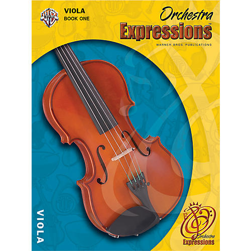 Alfred Orchestra Expressions Book One Student Edition Viola Book & CD 1