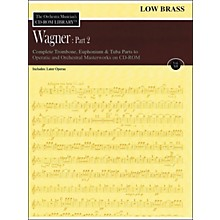 Hal Leonard Orchestra Musician's CD-Rom Library Vol 12 Wagner Part 2 Low Brass
