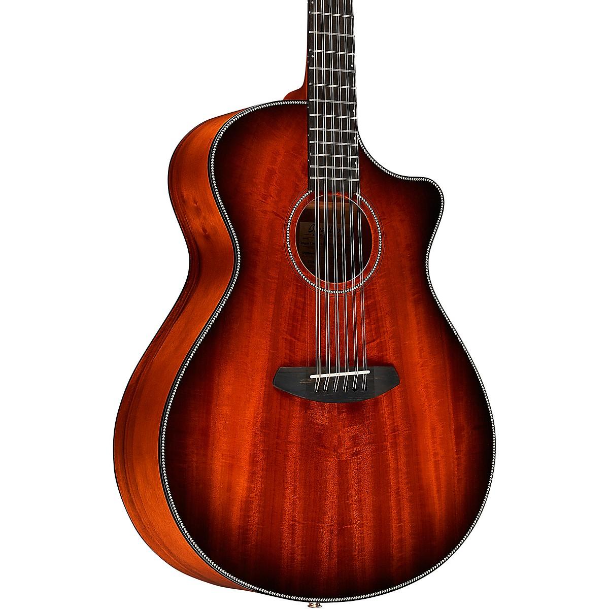 Breedlove Oregon Myrtlewood Concerto 12 String Acoustic-Electric Guitar