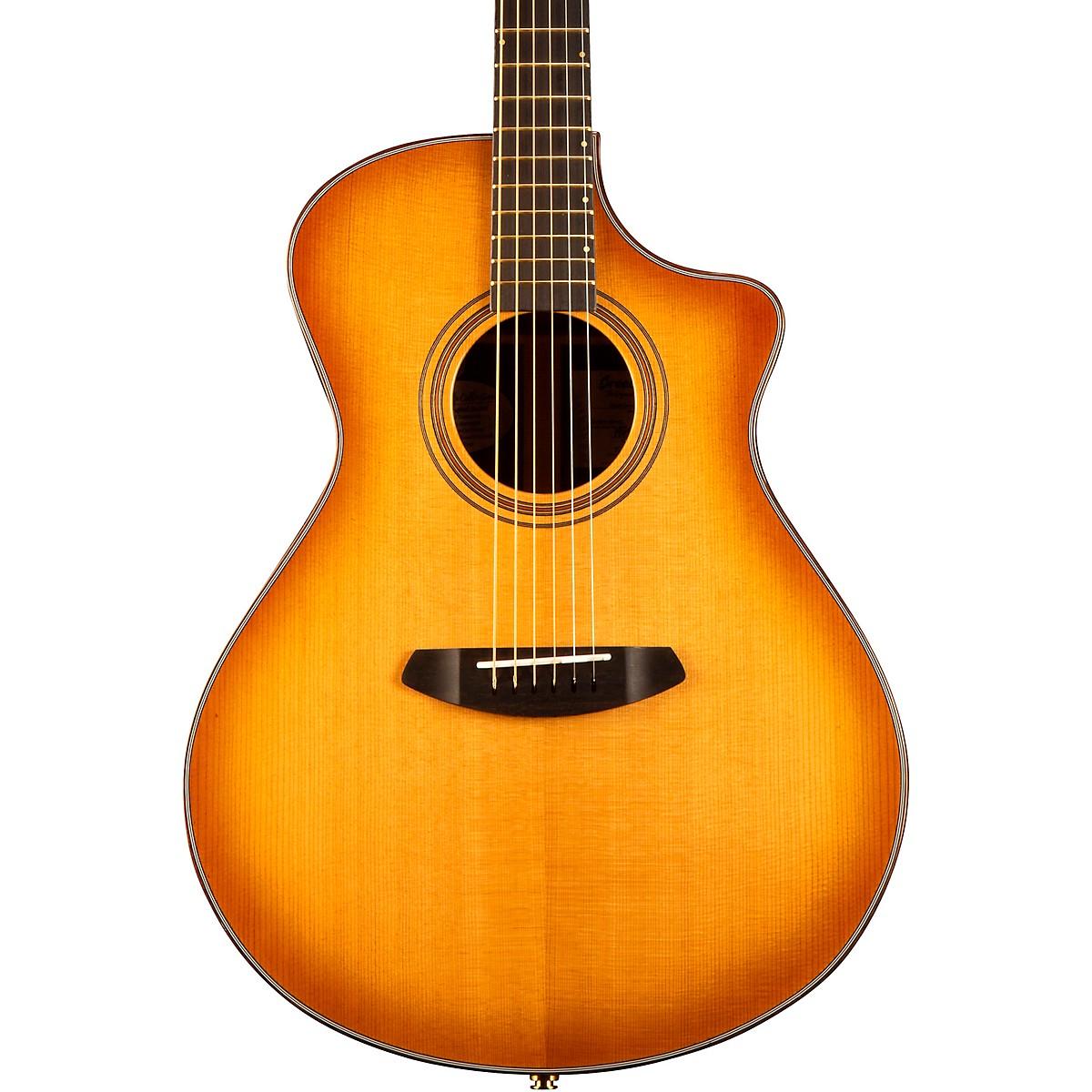 Breedlove Organic Collection Artista Granadillo Concerto Cutaway CE Acoustic-Electric Guitar