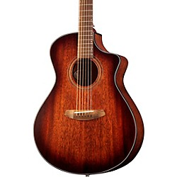 Organic Collection Wildwood Concert Cutaway CE Acoustic-Electric Guitar Whiskey Burst