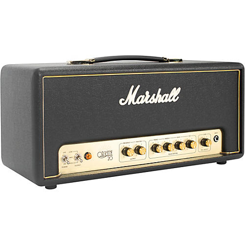 marshall origin20h 20w tube guitar amp head guitar center. Black Bedroom Furniture Sets. Home Design Ideas