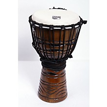 Origins Djembe African Mask 8 in.