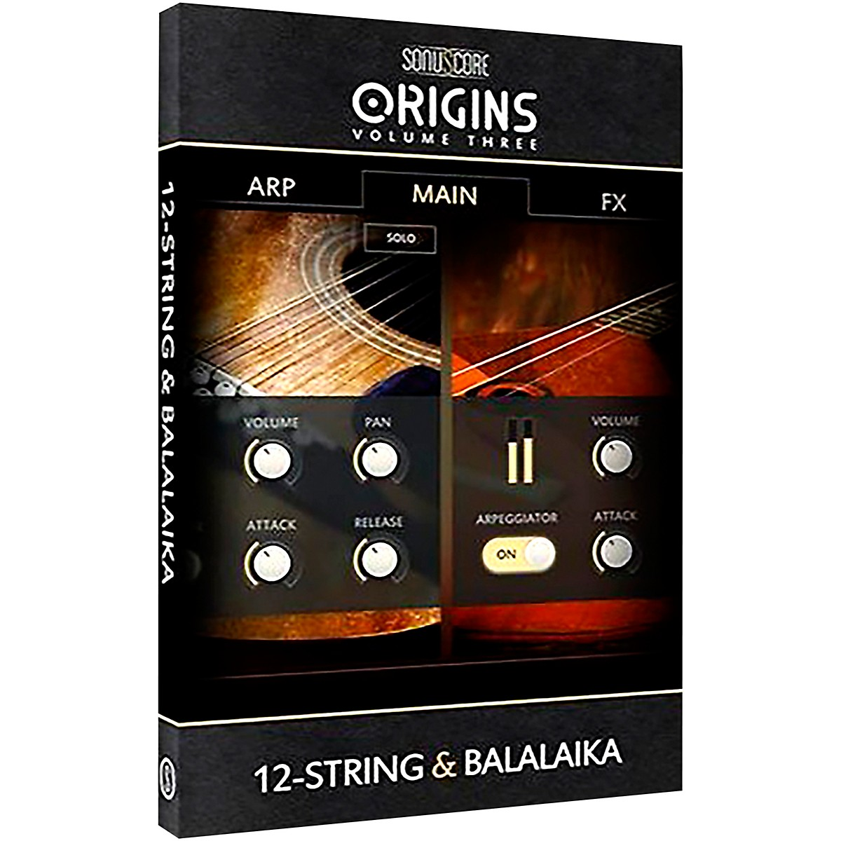 Sonuscore Origins Series Vol. 3 12-String and Balalaika