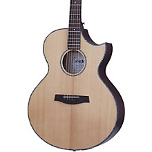 Orleans Stage Acoustic-Electric Guitar Natural