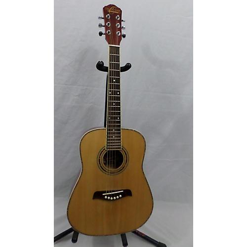 used washburn oscar schmidt acoustic guitar natural guitar center. Black Bedroom Furniture Sets. Home Design Ideas