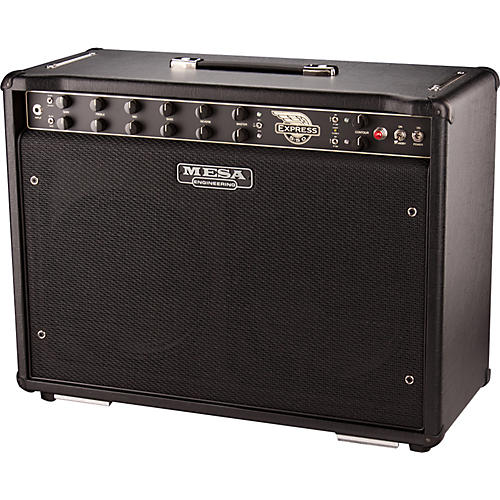 mesa boogie out of production demo express 5 50 5 50w 2x12 tube guitar combo amp black guitar. Black Bedroom Furniture Sets. Home Design Ideas