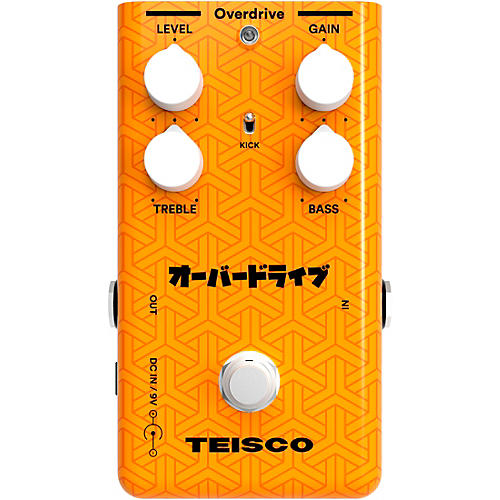 Teisco Overdrive Guitar Effects Pedal