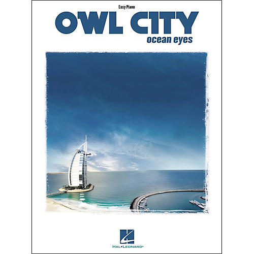 Hal Leonard Owl City - Ocean Eyes For Easy Piano Songbook
