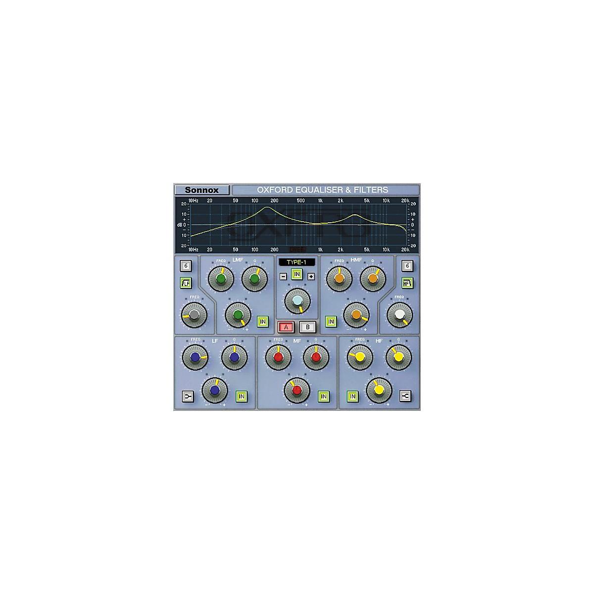 Sonnox Oxford EQ (Native) Software Download