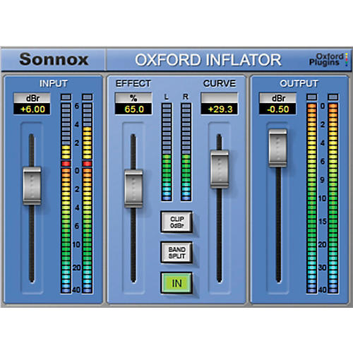 Sonnox Oxford Inflator (HD-HDX) Oxford Inflator (Native) Software Download