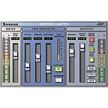 Sonnox Oxford Limiter (HD-HDX) Software Download