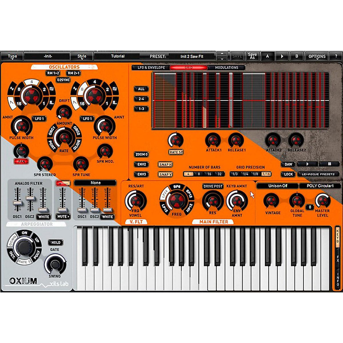 XILS lab Oxium Modern Synth Software Download
