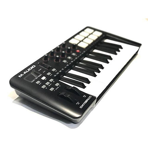 used m audio oxygen 25 key midi controller guitar center. Black Bedroom Furniture Sets. Home Design Ideas