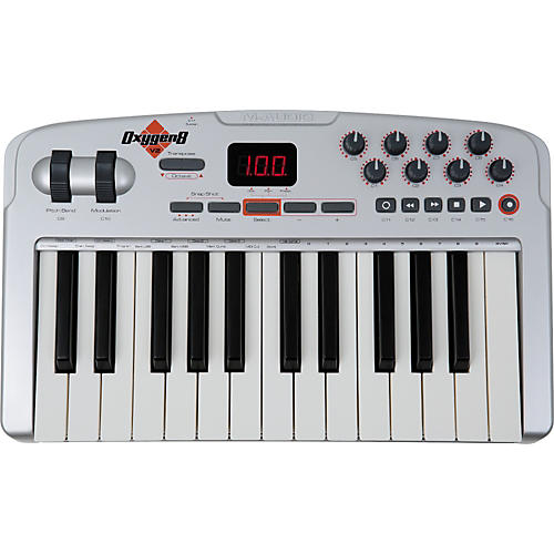 M-Audio Oxygen 8 v2 25-Key MIDI USB Keyboard Controller