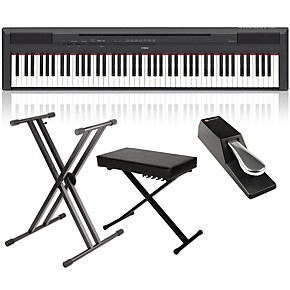 yamaha p 115 88 key weighted action digital piano packages guitar center. Black Bedroom Furniture Sets. Home Design Ideas