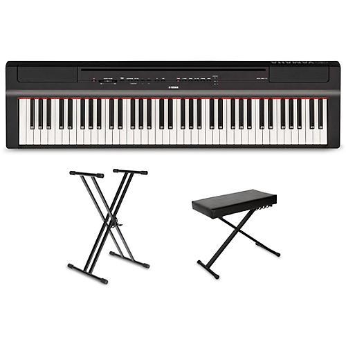 Yamaha P-121 Digital Piano Package