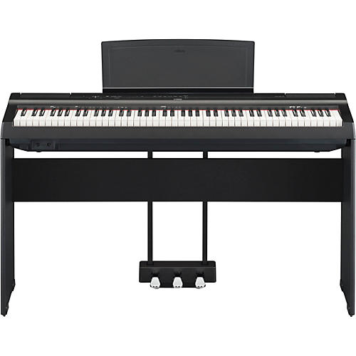 Yamaha P-125 Digital Piano with Wooden Stand and LP-1 Pedal Unit